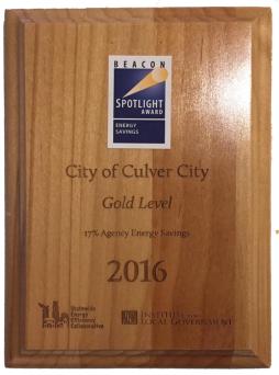 Culver City Award photo