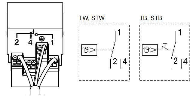 TUC105F001 Connection Diagram